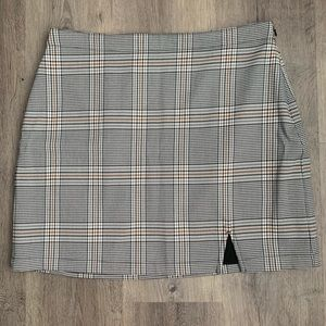 Abercrombie & Fitch Plaid Skirt